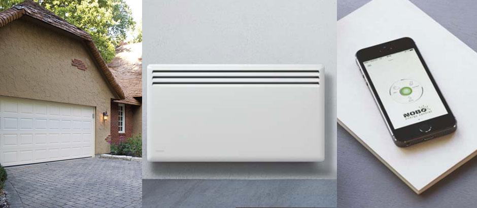 Умное электрическое отопление для гаража